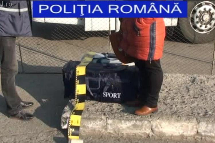 Femeie prinsă cu 20.000 de țigări de contrabandă la Cluj VIDEO
