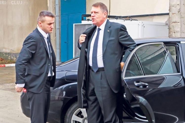 Coloana OFICIALĂ a lui Iohannis a fost huiduită de șoferi