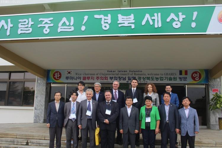 Produsele agricole din județul Cluj ar putea avea piață de desfacere în Coreea de Sud