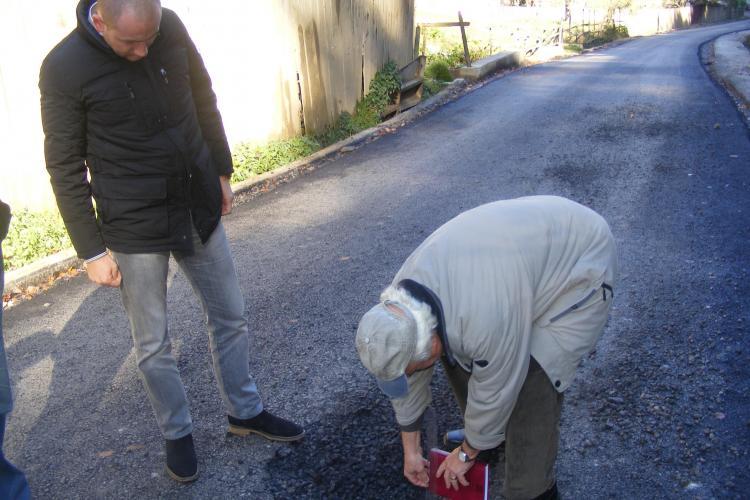 RAADPP Cluj: Am CONSTATAT problemele de la drumul Răchiţele - Ic Ponor înainte de inspecția lui Seplecan