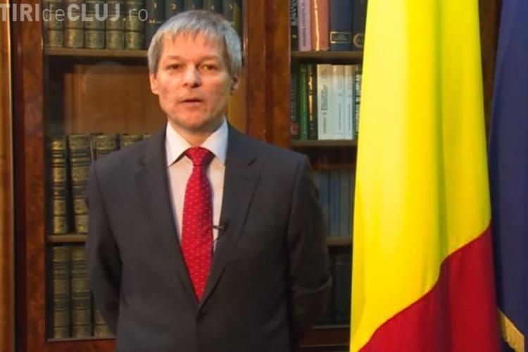 Mesajul lui Dacian Cioloș de 1 decembrie. Ce le-a transmis premierul românilor