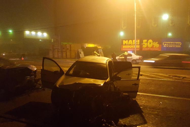 Accident TERIBIL pe Calea Florești! Șoferul a fugit și s-a spânzurat - FOTO