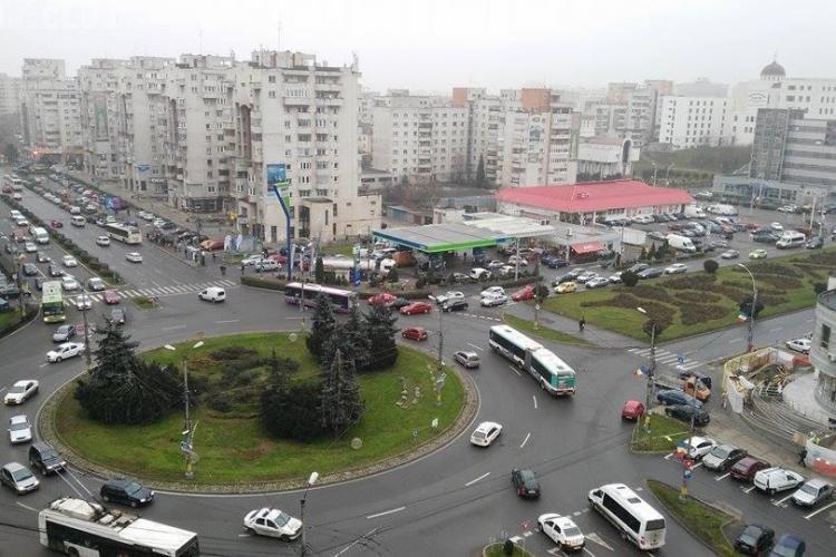Un consilier local solicită pasaj subteran sub sensul giratoriu Mărăști - FOTO