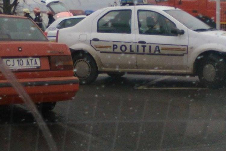 Accident pe strada Traian Vuia. Trei mașini au fost avariate - FOTO