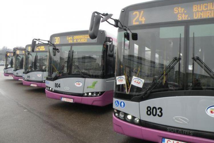 Cluj-Napoca: Cum circulă autobuzele în perioada 28 noiembrie - 1 decembrie