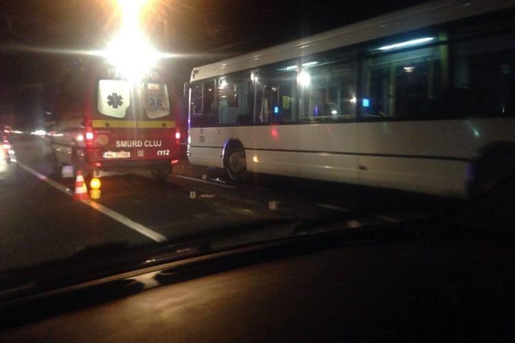 Accident mortal în Florești! O femeie a fost spulberată de un autobuz. Șoferul a leșinat