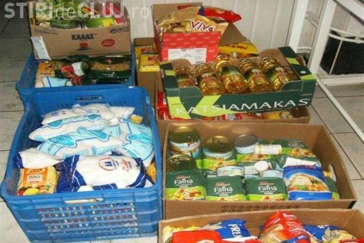 """UBB Cluj: Aproape 900 de kilograme de alimente au fost donate în cadrul campaniei """"Banca de alimente FSPAC"""""""