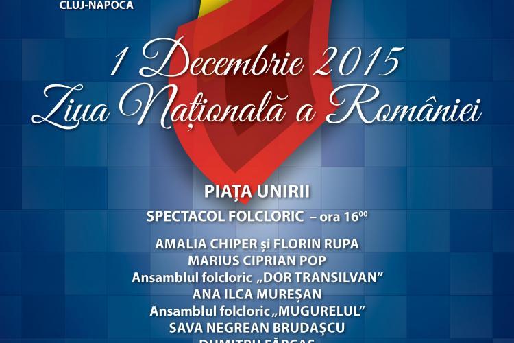 Cluj: Programul Zilei de 1 Decembrie. Vor fi concerte, dar nu vor fi artificii