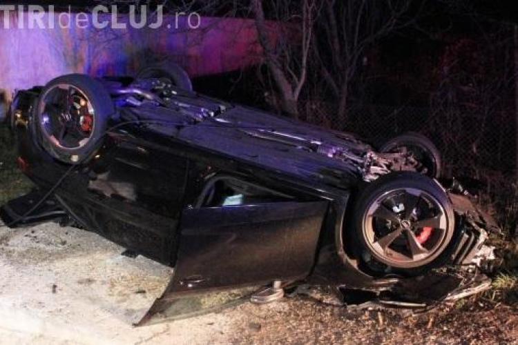 Fiul lui Silviu Prigoană s-a răsturnat cu mașina la Nima. I-a ieșit un TIR în față VIDEO