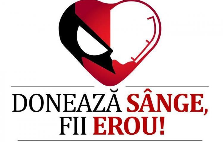 """Campania """"Donează sânge! Fii erou!"""" se desfășoară la Cluj în perioada următoare. Vezi când are loc"""