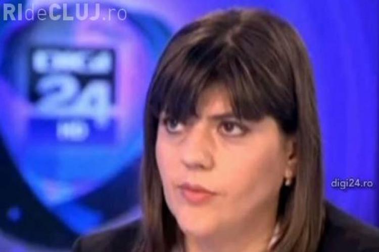 """Laura Codruţa Kovesi, şefa DNA: """"Nu las BACŞIŞ la coafor"""""""