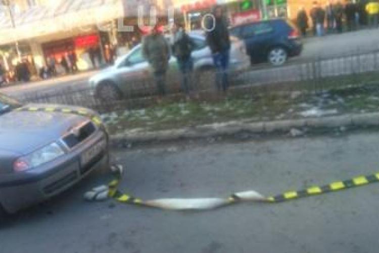 Accident în Piața Mărăști! Ce a pățit o fetiță la 50 de metri de trecerea regulamentară