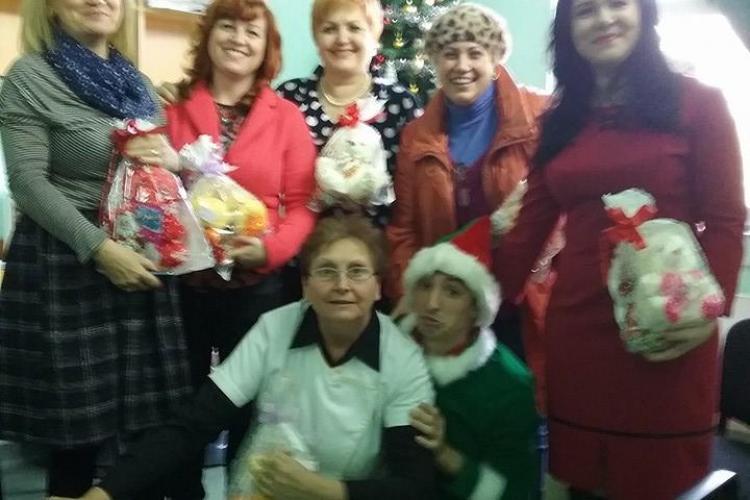 Femeile din PSD Cluj au făcut un cadou copiilor de la Clinica de Psihiatrie Pediatrică