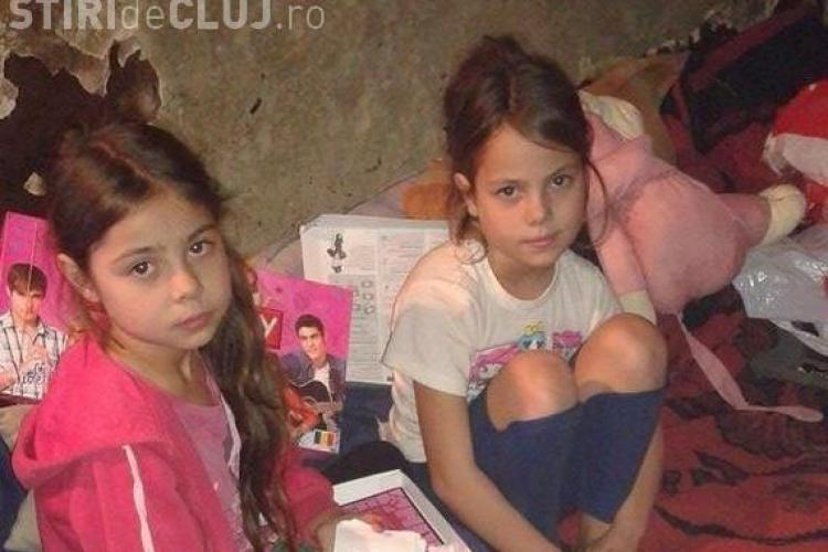 Tania și Patricia, gemenele de 8 ani de la Turda, care au nevoie de SPERANȚĂ de Crăciun