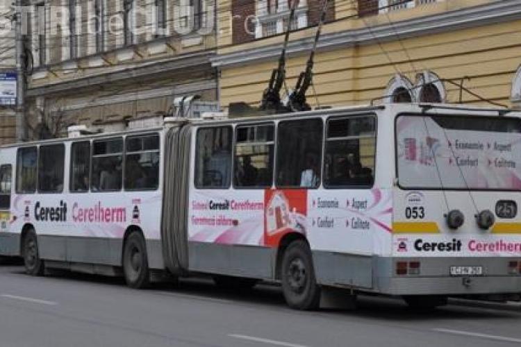 Anunț al CTP Cluj privind circulația pe strada Moților
