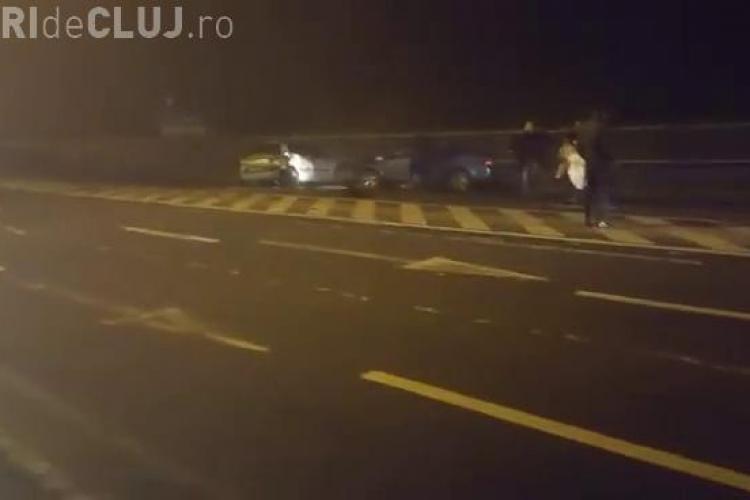 Imagini dramatice de la accidentul de pe Calea Florești. Șoferul vinovat s-a spânzurat - VIDEO