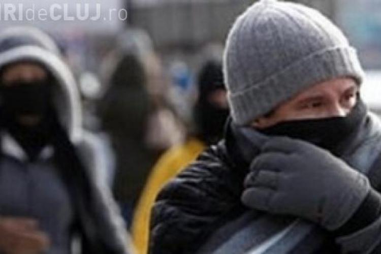 Vremea se răcește DRASTIC la Cluj! Meteorologii anunță ger cumplit în ultimele zile din an