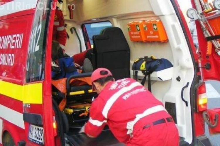 Accident GRAV la Cluj! Un microbuz a intrat într-un autobuz