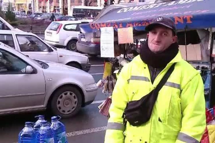 """Robi e EROU național! Chiar dacă are un handicap, el e considerat """"cel mai cinstit muncitor din Cluj"""""""