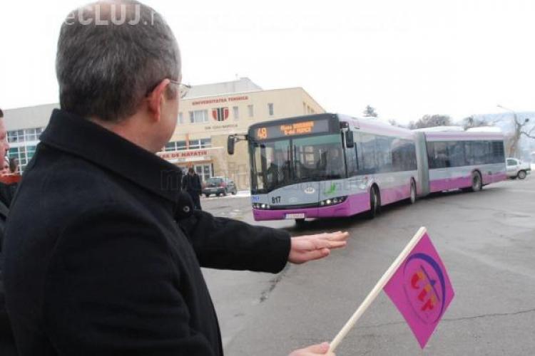 Primarul a luat DECIZIA: Apar benzi dedicate de transport în comun în Cluj-Napoca - VIDEO