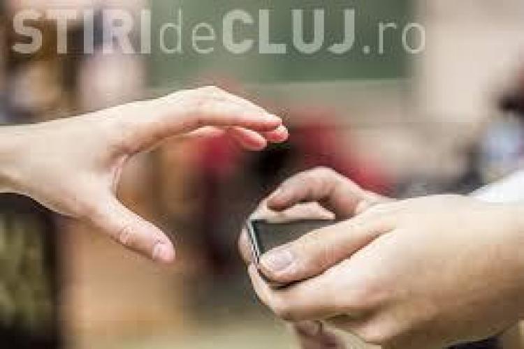 Hoț de telefoane prins de polițiști în centrul Clujului