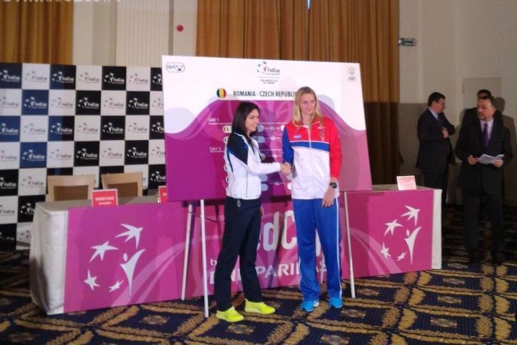 PROGRAMUL meciurilor de tenis din Fed Cup. Simona Halep joacă în ambele zile - VIDEO