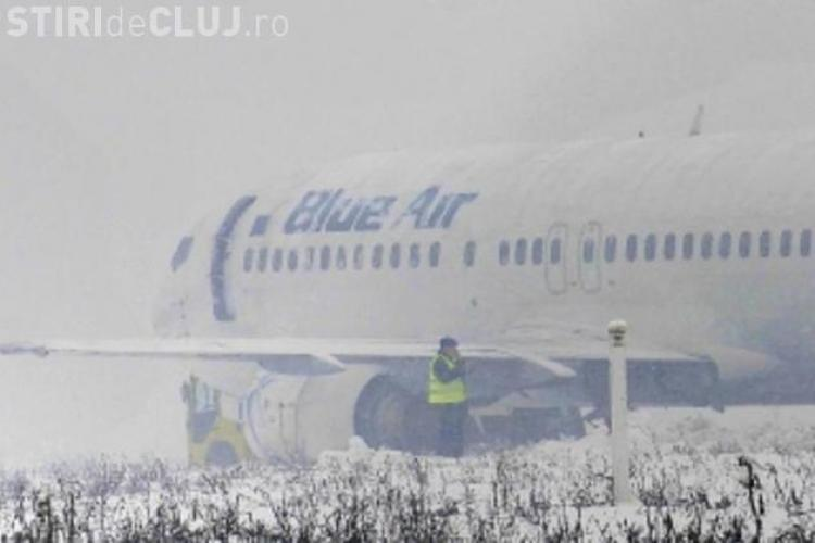 """Emil Boc a spus că avionul Blue Air a ieșit de pe pistă din """"greșeala pilotului"""" - VIDEO"""