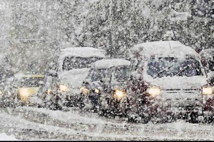 Cât va ninge la Cluj-Napoca? Meteorologii au făcut ANUNȚUL