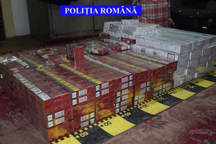 Țigări de contrabandă depistate la Cluj, în trenul Iași – Timișoara Nord