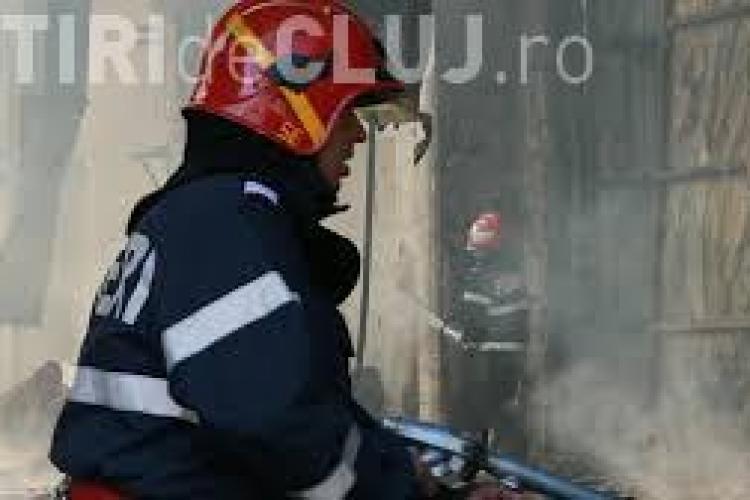 Incendiu pe strada Cetății, în Florești