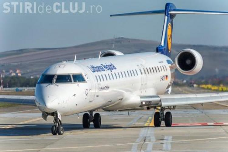 Lufthansa introduce CINCI zboruri spre Cluj, din luna mai 2016