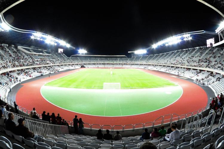 Naţionala de fotbal a României va juca pe Cluj Arena
