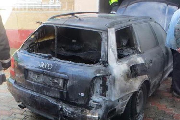 Unui clujean i-a explodat rezervorul cu gaz din mașină - VIDEO