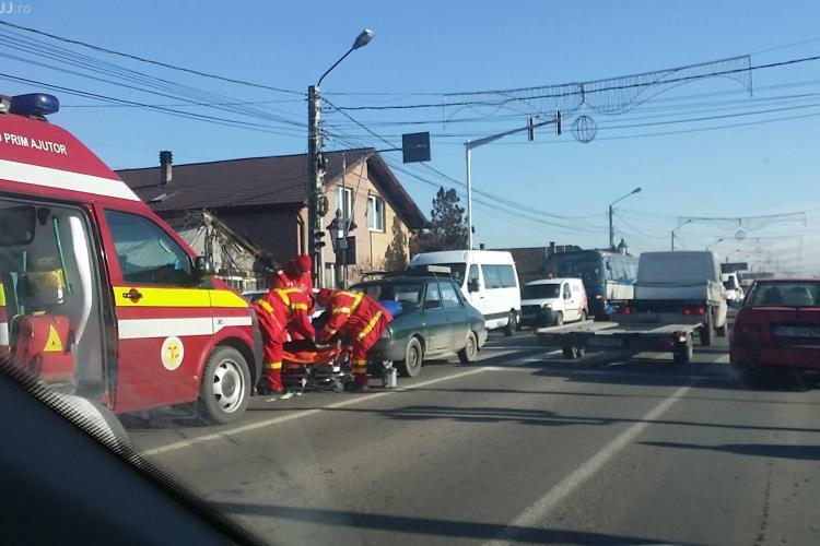 Accident în Florești. Femeie lovită pe trecerea de pietoni