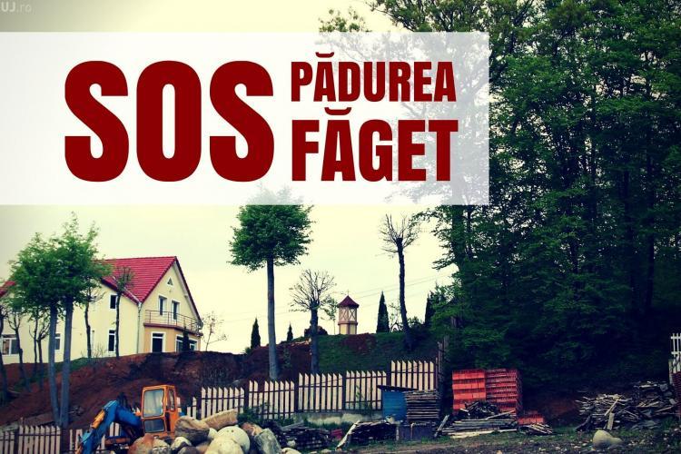 Clujenii semnează pentru a STOPA construcțiile de case în Făget și în livezile Clujului