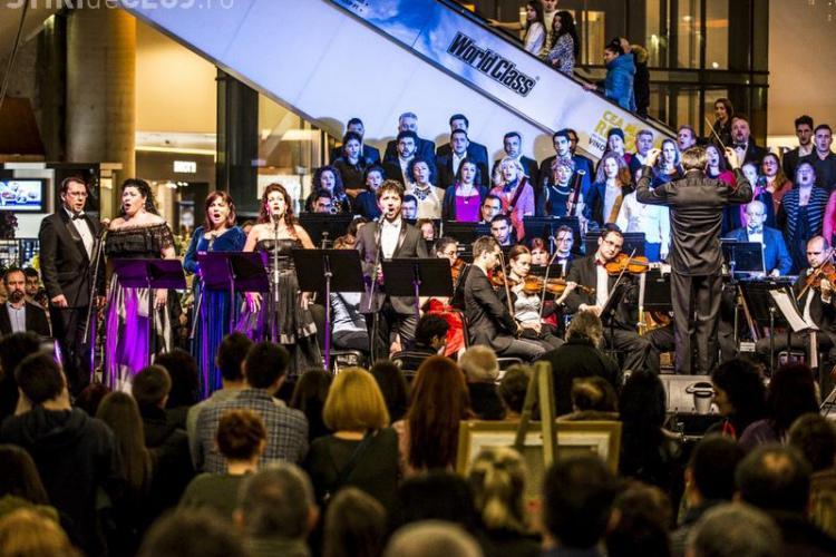 Concert special al Operei, de Ziua Îndrăgostiților, la Iulius Mall Cluj