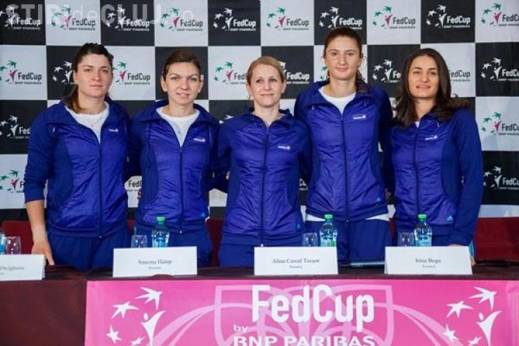 Simona Halep va juca la Cluj, în meciul contra Cehiei