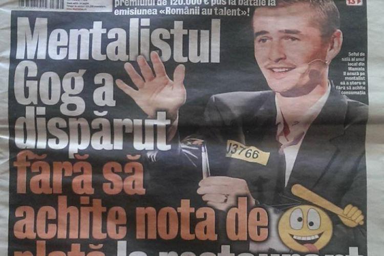 Cristian Gog a câștigat un proces cu un tabloid din România