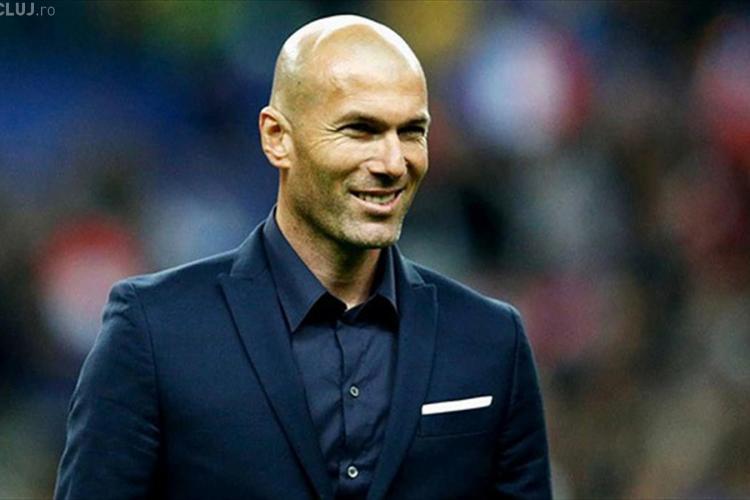 Surpriză în lumea fotbalului. Zinedine Zidane este noul antrenor al lui Real Madrid
