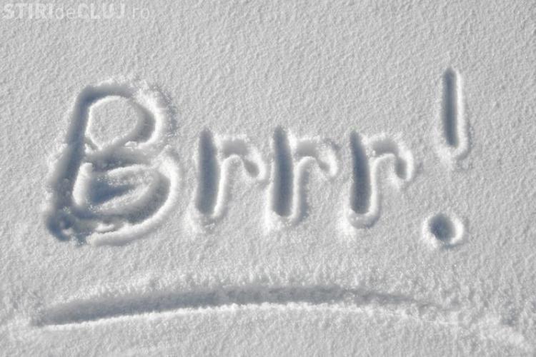 Atenţionare meteorologică la Cluj. E cod galben de vremea deosebit de rece
