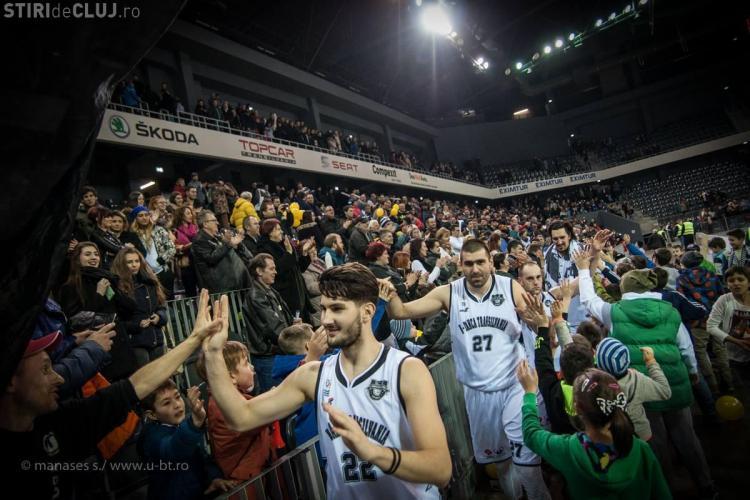 Banca Transilvania reconfirmă susținerea echipei de baschet CS U-BT Cluj-Napoca