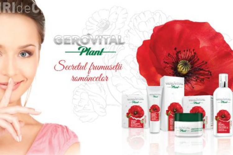 Noua gamă Gerovital Plant – secretul frumuseţii româncelor (P)