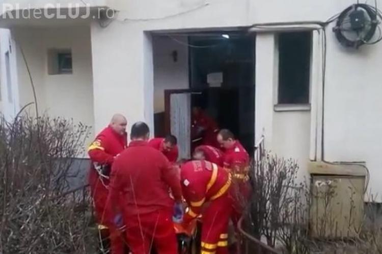 Explozie la un bloc în Mărăști! O persoană a fost grav rănită VIDEO