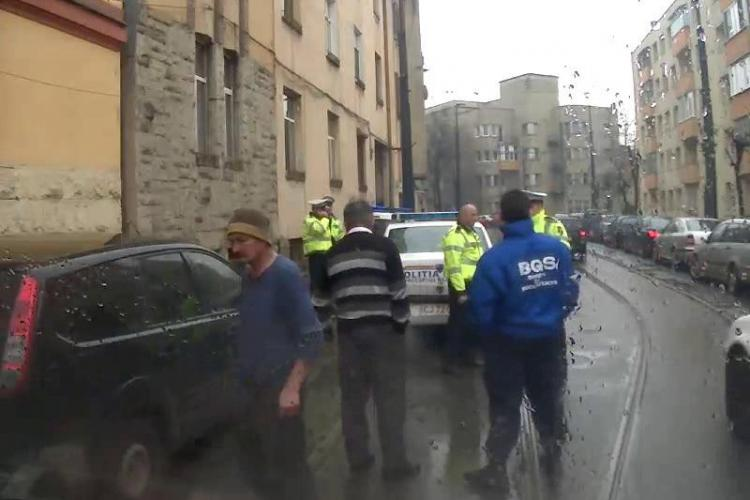 Câțiva șmecheri au blocat mijloacele de transport din Cluj-Napoca - VIDEO