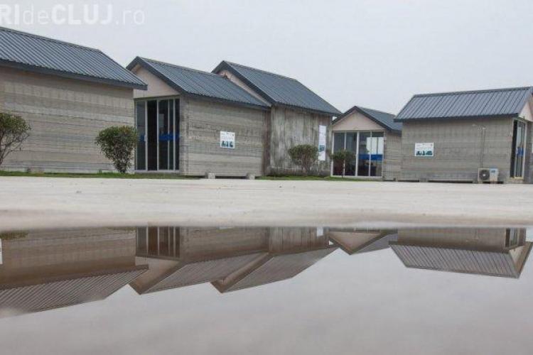 Invenție de senzație din China. Cât costă casa care poate fi construită în 24 de ore