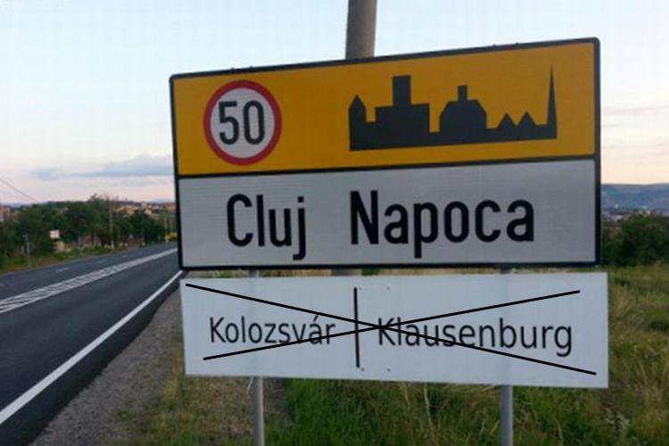 Maghiarii NU vor avea la Cluj-Napoca plăcuțe multilingve. Ce a decis Tribunalul Cluj