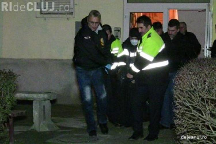 Sinucidere morbidă la Dej! Un bărbat și-a tăiat singur gâtul în miezul nopții VIDEO