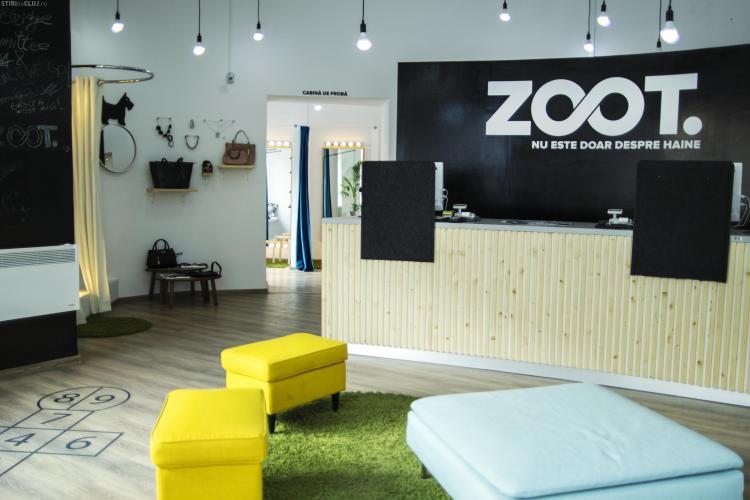 ZOOT.ro a deschis la Cluj-Napoca două Cabine de Fericire. Comanzi haine online și le probezi înainte de a le cumpăra