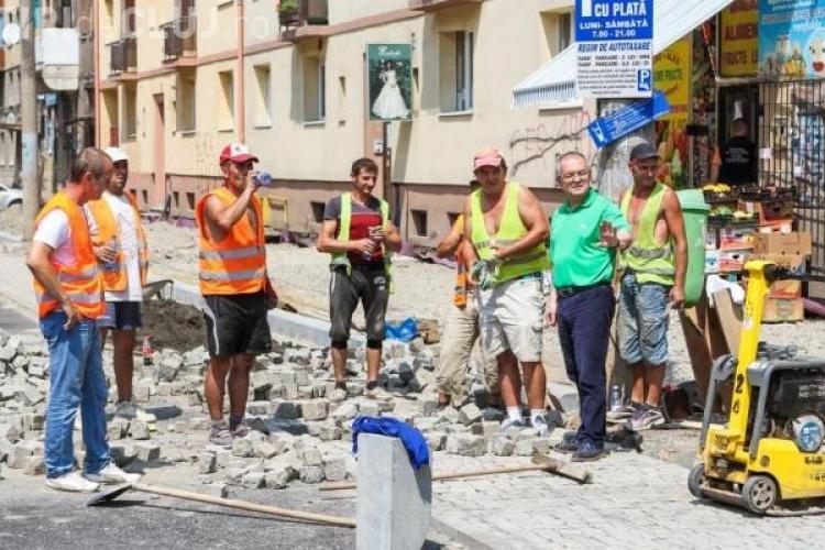 Emil Boc, taxat de PSD Cluj după ce a spus că este nemulțumit de lucrările din centrul Clujului