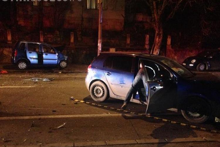 Accident cu patru răniți în Grigorescu. Vinovat e un DEȘTEPT din Dej